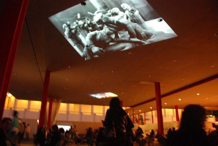 VIDEOontheLOOSE-lacma ceiling